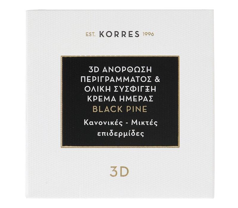bcdeae1c57 ... KORRES 3D Ανόρθωση Περιγράμματος   Ολική Σύσφιγξη Κρέμα Ημέρας Μαύρη  Πεύκη Για Κανονικές Και Μικτές Επιδερμίδες